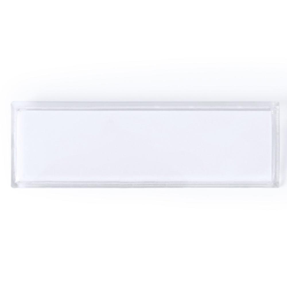 identificador plastico alfiler placa