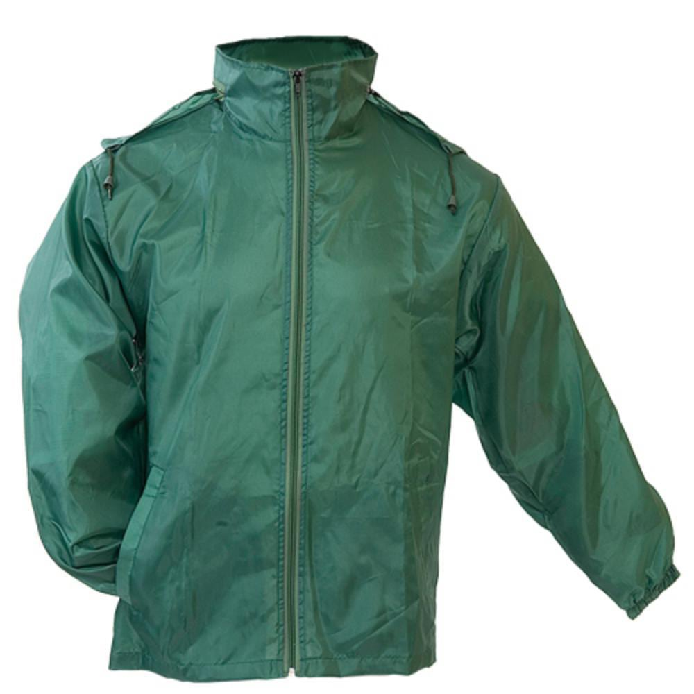 impermeable poliester colores capucha adultos