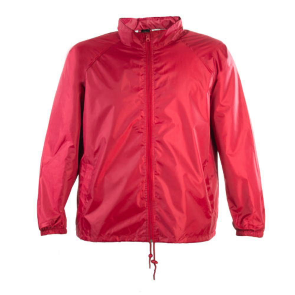 impermeable poliester combinacion color adulto