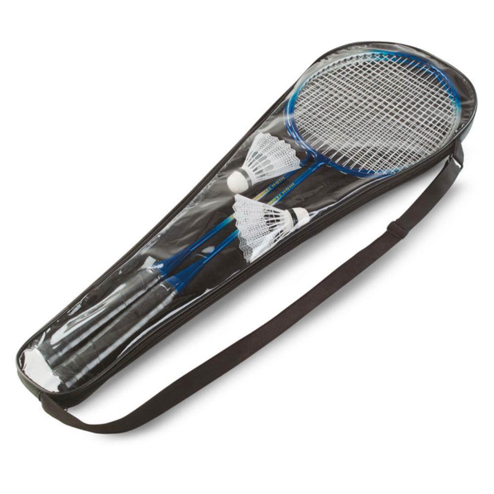 juego badminton raquetas set jugar