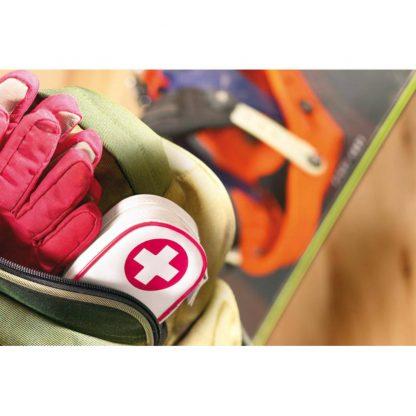 kit emergencia tijeras vendas tiritas