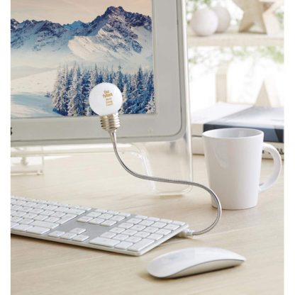 lampara usb flexible bombilla led