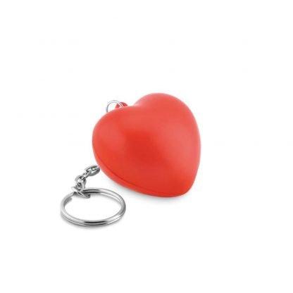 llavero antiestres forma corazon