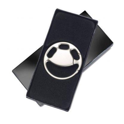 llavero metal volante caja individual