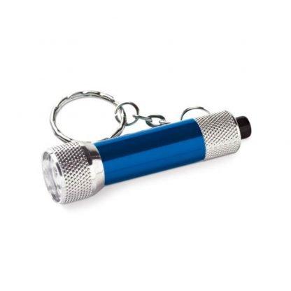 llavero mini linterna aluminio led colores
