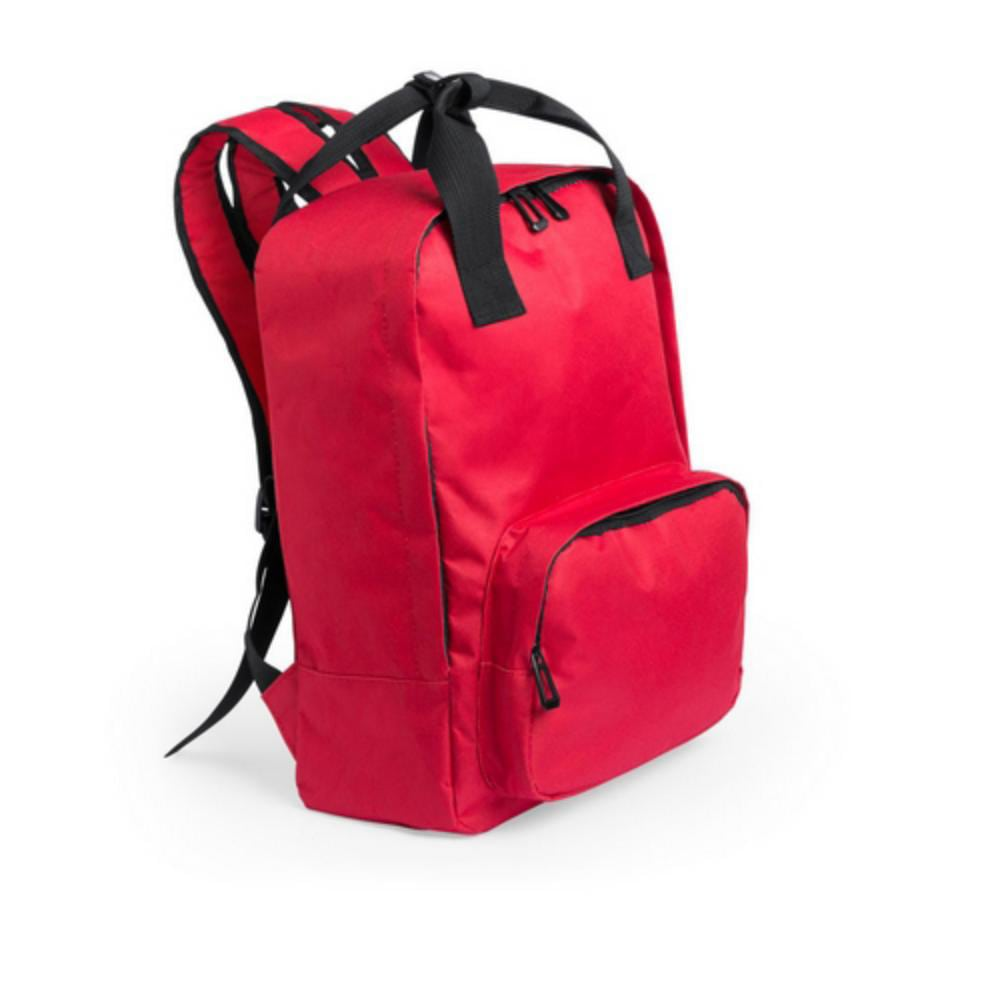 mochila asas cortas bolsillo colores portatil