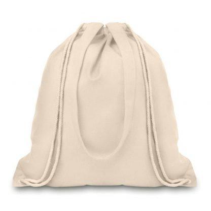 mochila bolsa algodon asas gramaje gr