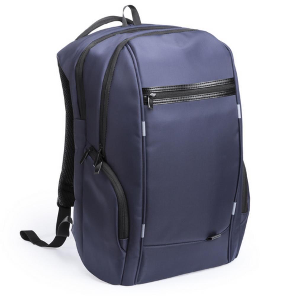 mochila calidad superior antirrobo negra azul