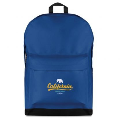 mochila clasica colores basica bolsillo viaje