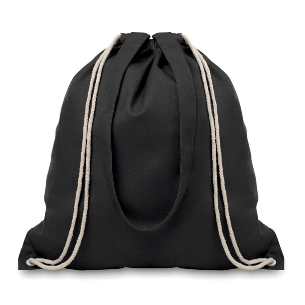 mochila cordones algodon asas largas gr