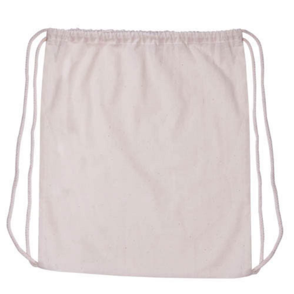 mochila cordones algodon organico barata