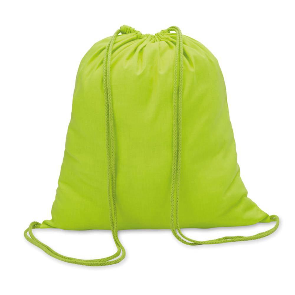 mochila cuerdas cordones algodon gr colores