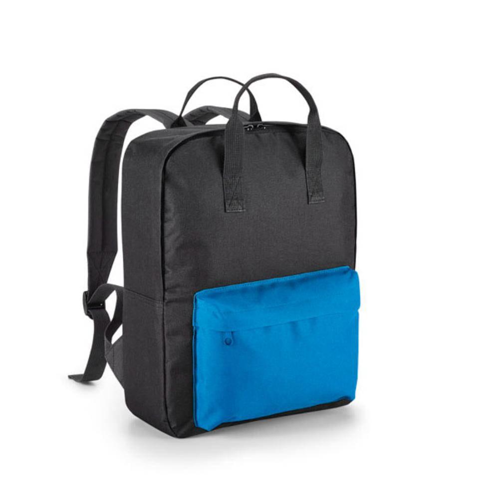 mochila diseno negra azul lima amarillo acolchada