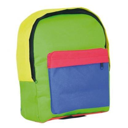 mochila infantil escuela multicolor