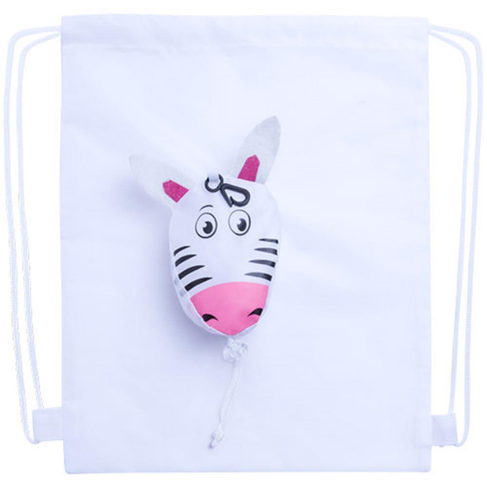 mochila plegable animales poliester colores ninos