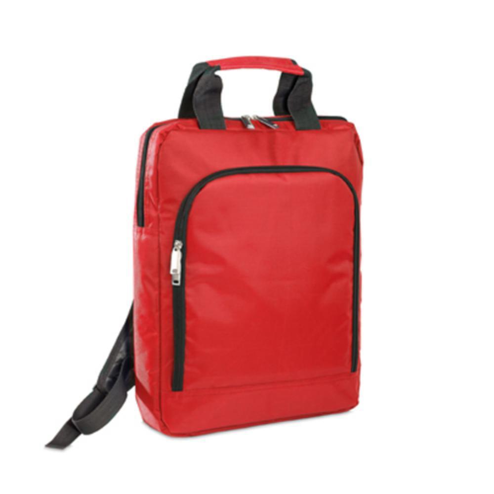mochila poliéster bolsillo acolchado portatil color