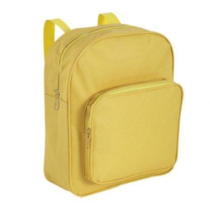 mochila poliester infantil roja azul amarilla
