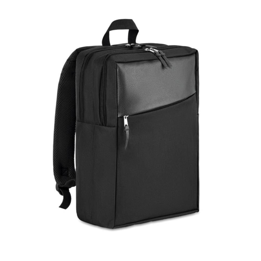 mochila portatil compartimento poliester bolsillos