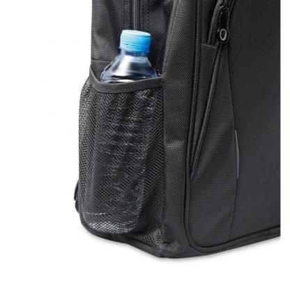 mochila portatil compartimentos poliester acolchado asas