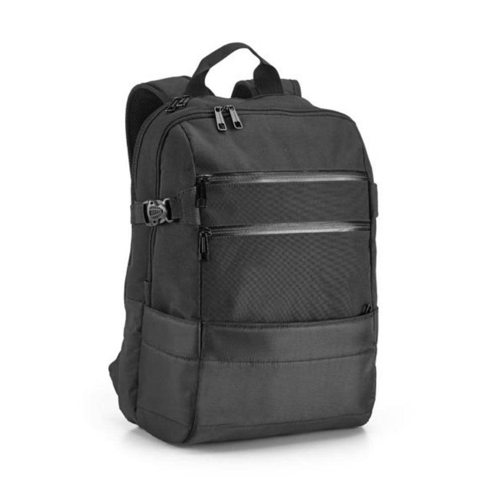 mochila tablet ordendor negra compartimentos acolchada