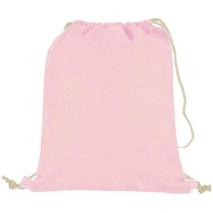 mochila tejido camiseta cordones