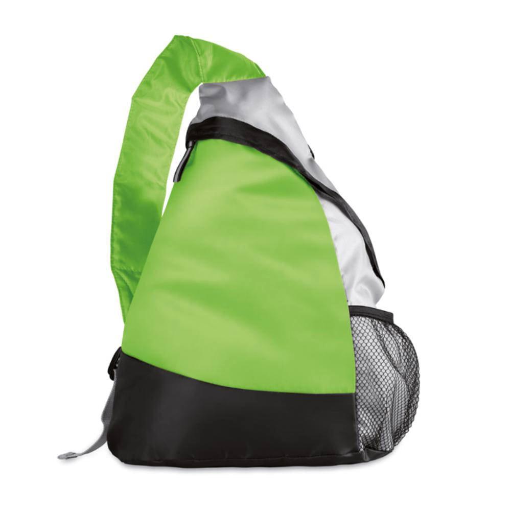 mochila triangular color poliester deporte