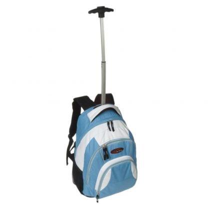mochila trolley infantil ruedas ninos acolchada