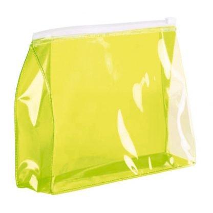 neceser pvc transparente cremallera