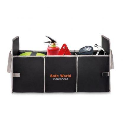 organizador plegable maletero coche