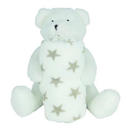 oso manta polar suave infantil