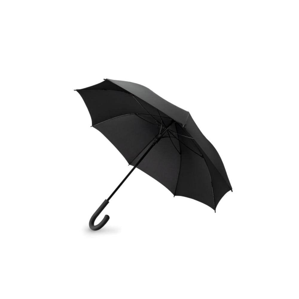 paraguas anti viento mango abs lluvia