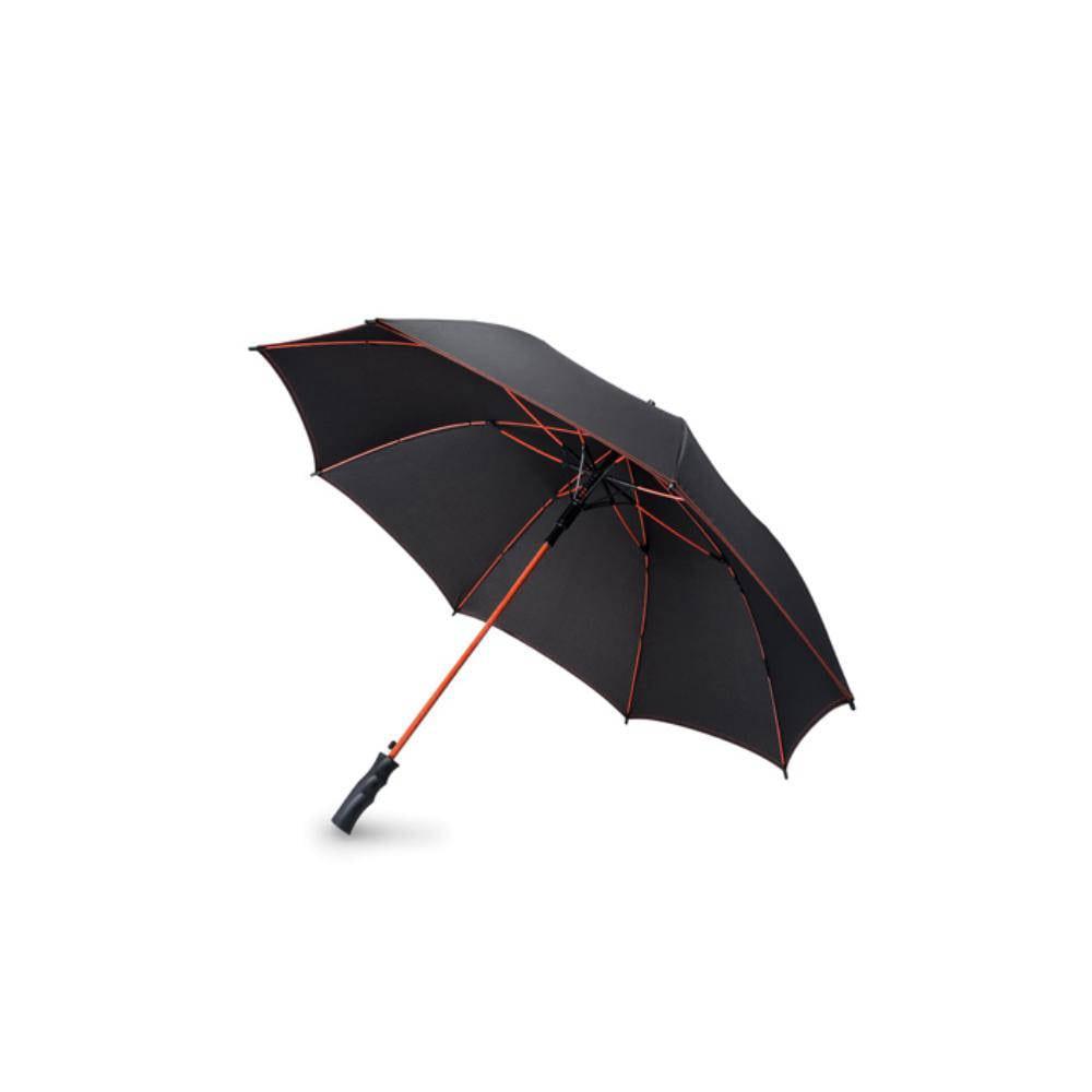 paraguas automatico fibra vidrio mango lluvia