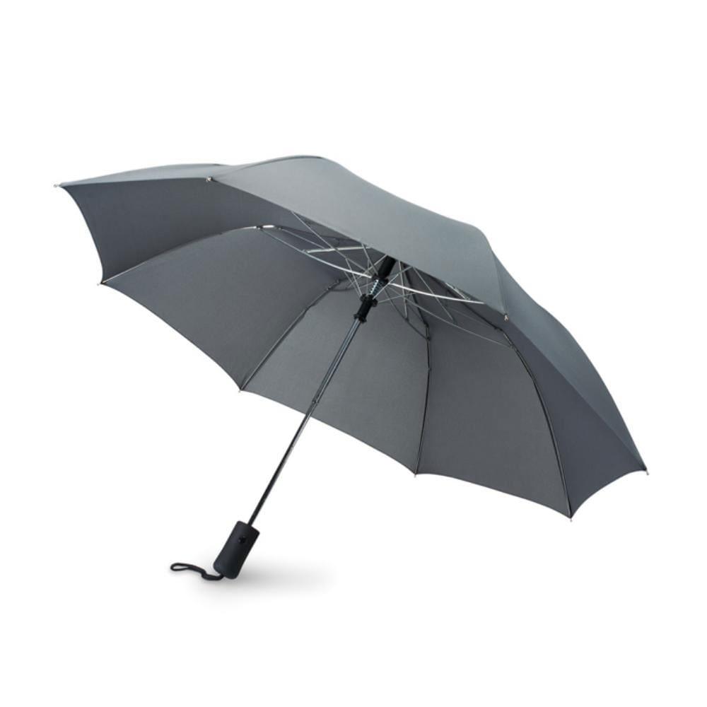 paraguas automatico plegable mango goma lluvia