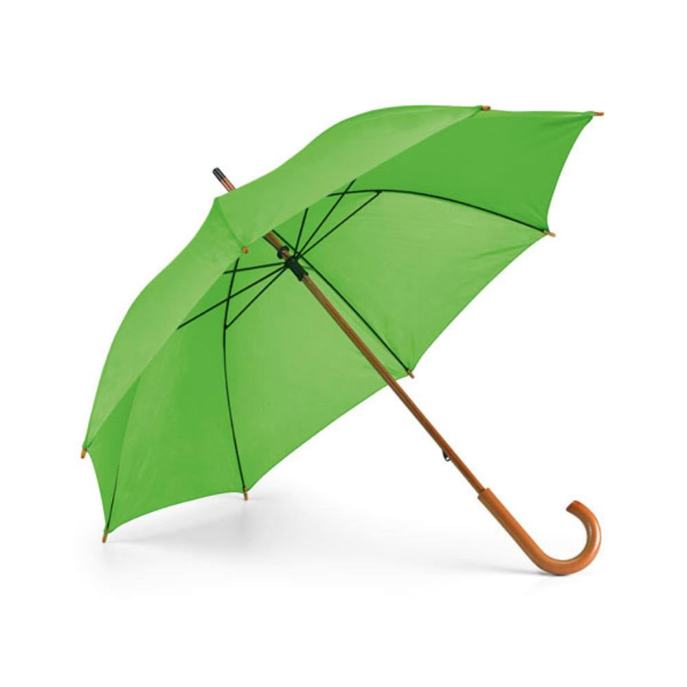 paraguas color mango madera colores lluvia