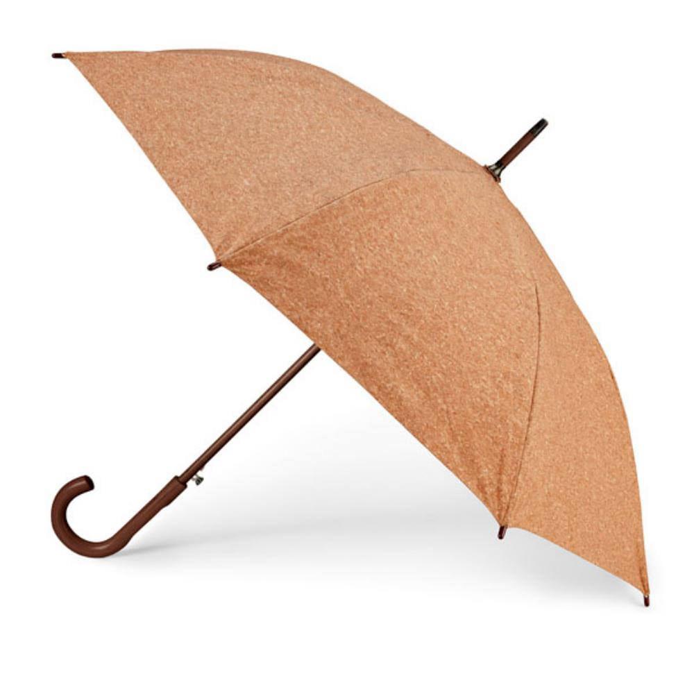 paraguas corcho cabo mango madera