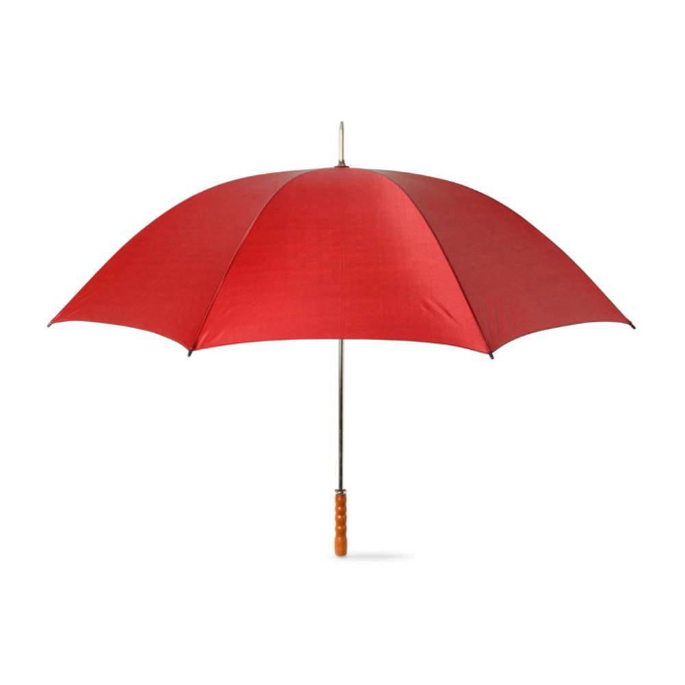 paraguas mango madera paneles manual