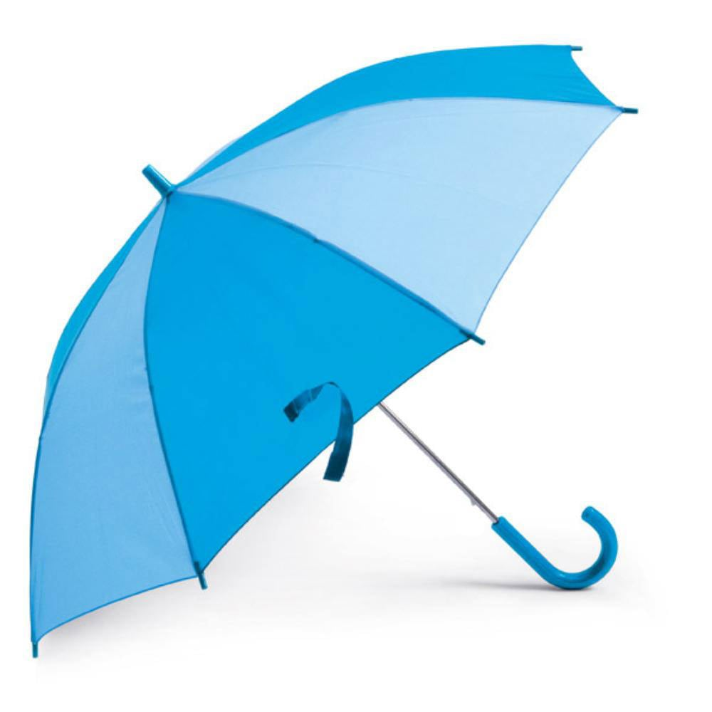 paraguas ninos azul lluvia
