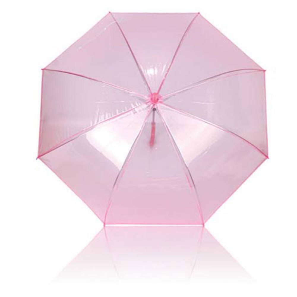 paraguas plastico colores translucido automatico aluminio