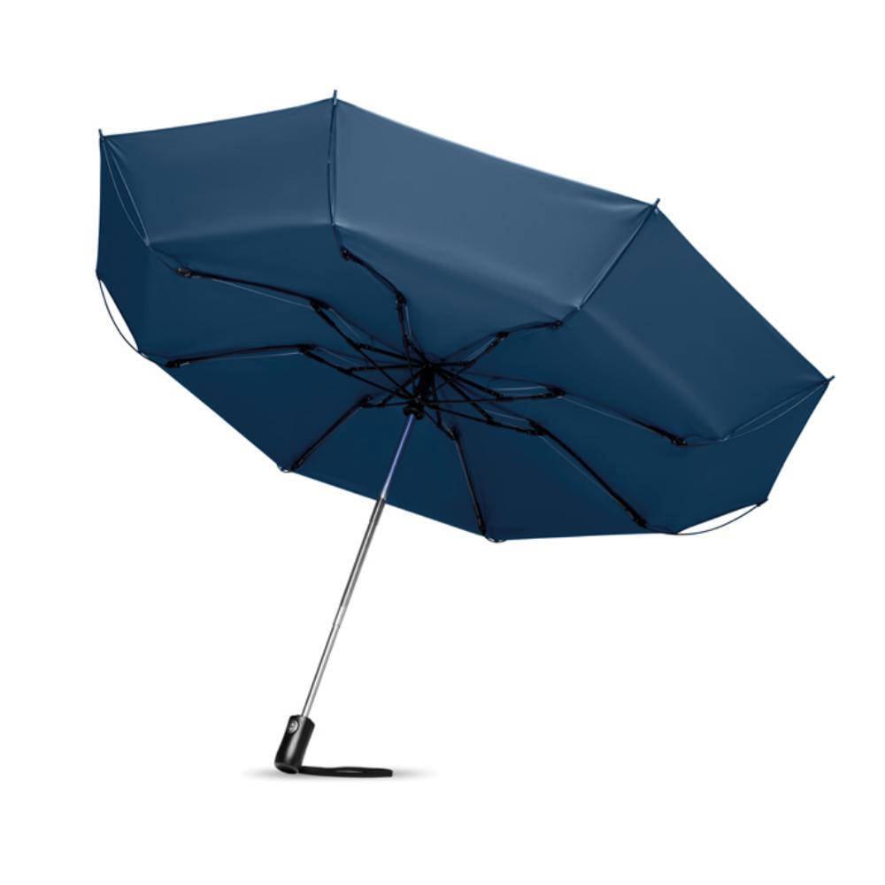 paraguas plegable fibra vidrio mango