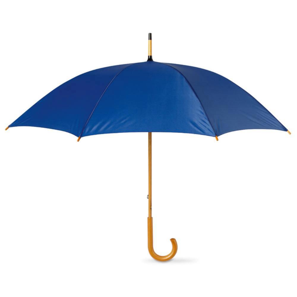 paraguas poliester madera colores lluvia economico