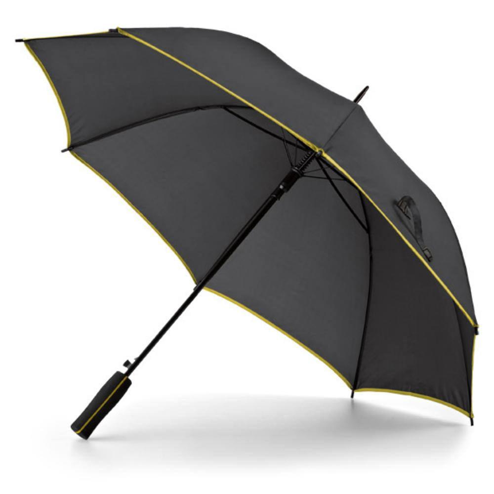paraguas poliester negro mango eva lluvia