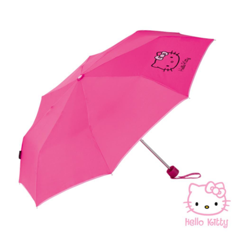 paraguas rosa ninos hello kitty