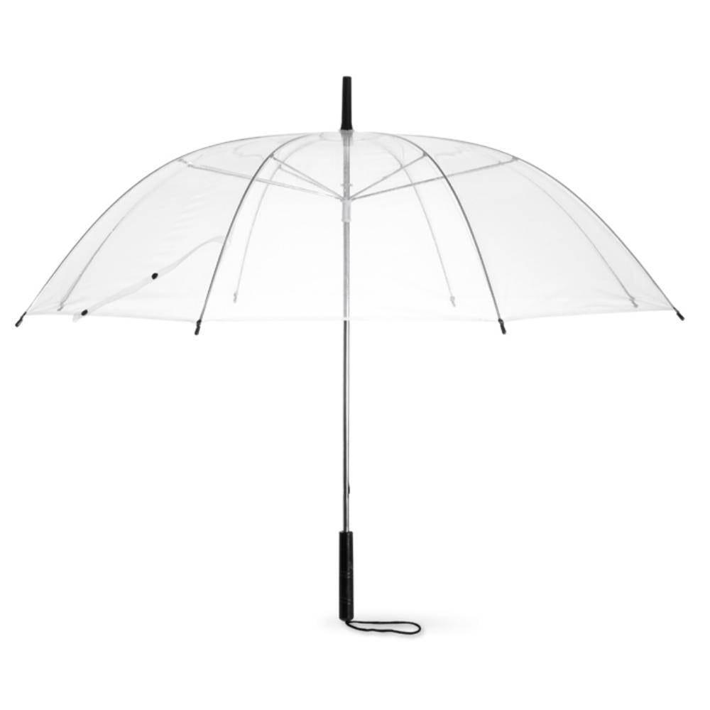 paraguas transparante paneles pvc lluvia