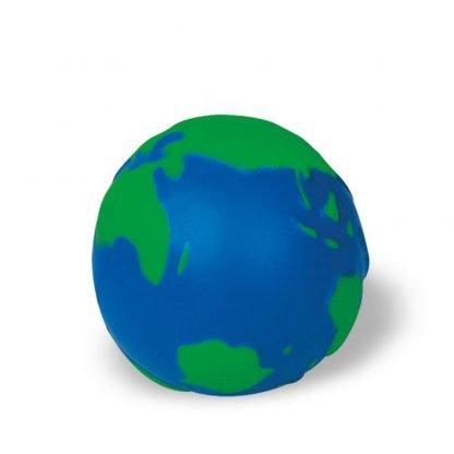 pelota antiestres tierra