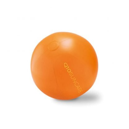 pelota balon hinchable color plastico playa