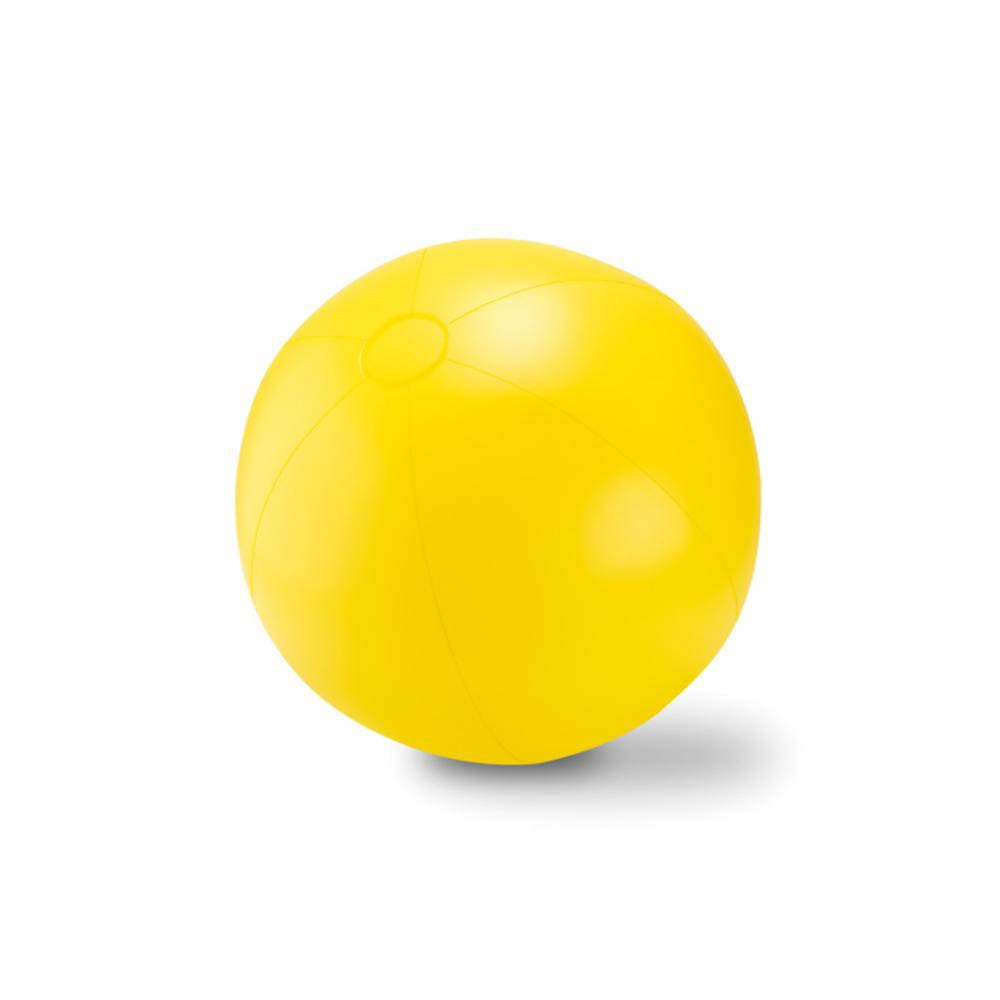 pelota balon hinchable color plastico playa