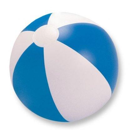 pelota balon jugar playa plastico azul