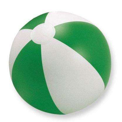 pelota balon jugar playa plastico verde
