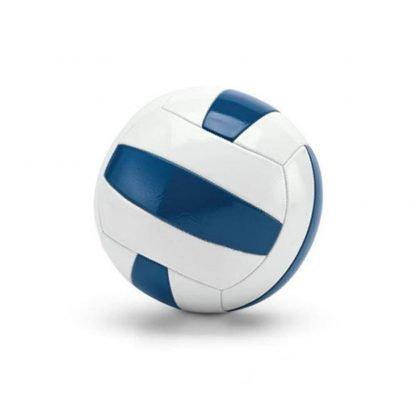 pelota voleibol juego blanca azul balon