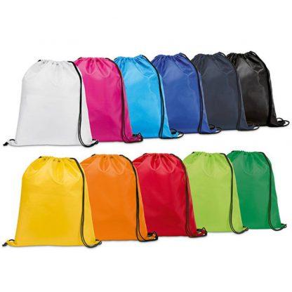 petate poliester colores mochila cordones